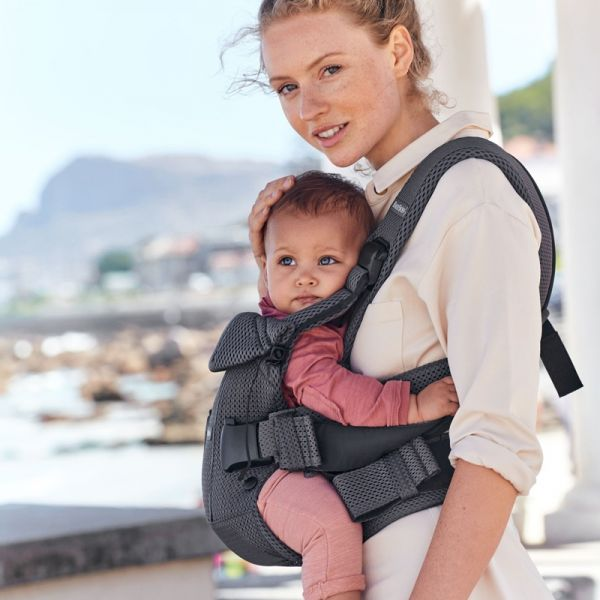 Babybjorn Baby Carrier One (Air Mesh 3D) Anthracite