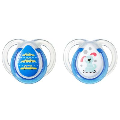Tommee Tippee Closer to Nature Anytime Soothers 0-6m (2 pcs)