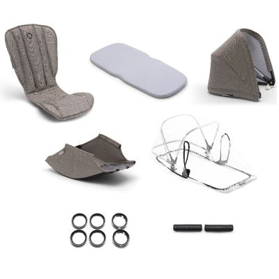 Bugaboo Bee 5 Style Set Complete Mineral