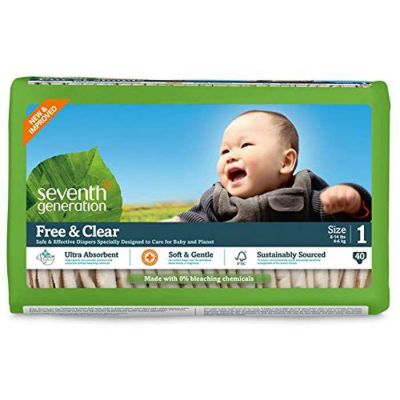 Seventh Generation Baby Diapers - Stage 1