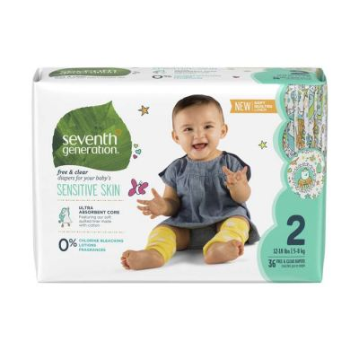 Seventh Generation Baby Diapers - Stage 2