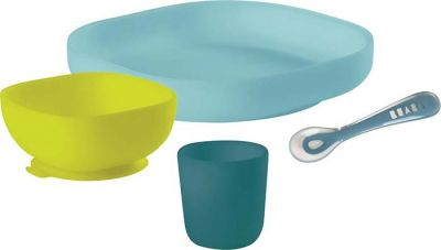 Beaba Silicone Meal Set (4 Piece)