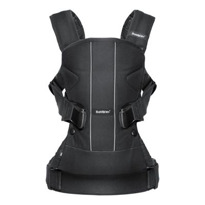 Babybjorn Baby Carrier One Black/ Cotton Mix