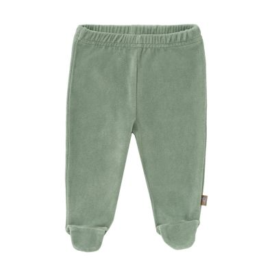 Fresk Trousers With Feet Forest Green 6-12m