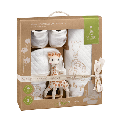 Sophie La Girafe So'Pure My Birth Outfit Set