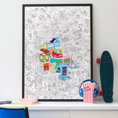 OMY Large Posters Various Designs