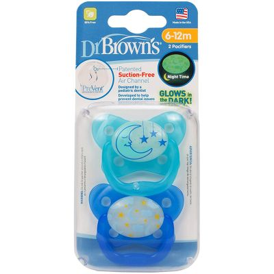 Dr. Brown's Butterfly Shield Pacifier 6-18m (2 Pack)