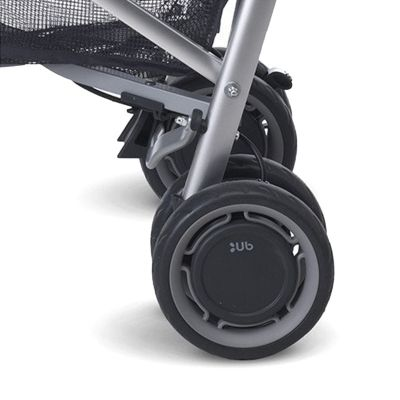 UPPAbaby G-Luxe Stroller 2015 Rear Wheel Silver