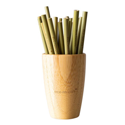 Eco Rascals Reusable Bamboo Straws 5pcs