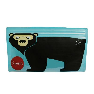 3 Sprouts Snack Bag Bear