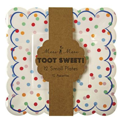 Meri Meri Toot Sweet Spotty Small Plate