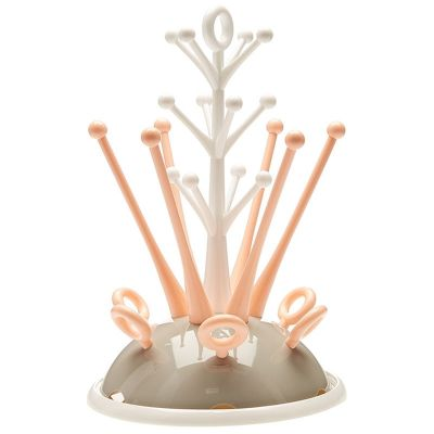Beaba Bottle Draining Rack Pastel Nude