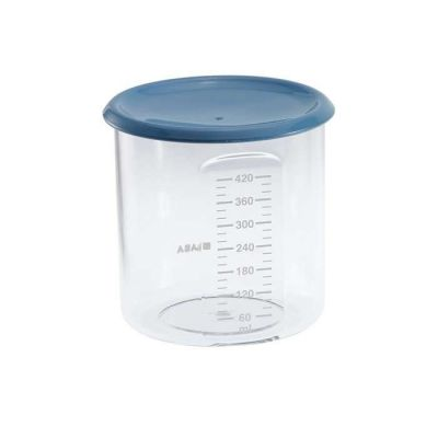 Beaba Maxi Portion Conservation Jars Blue 240ml