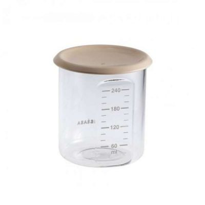 Beaba Maxi Portion Conservation Jars Nude 240ml