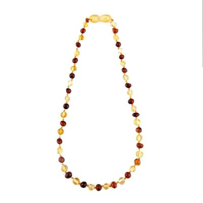 Child of Sun Amber Baby Necklace Polished Lemon X Honey
