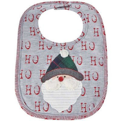 Mud Pie Santa Alpine Bib