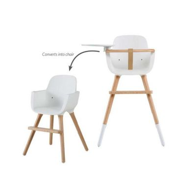 Micuna Ovo High Chair White/Beechwood