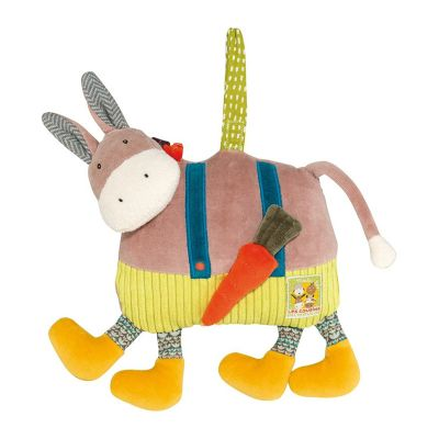 Moulin Roty Les Cousins Musical Doll Donkey